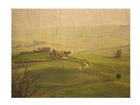 Seinapilt puidul Chianti Tuscany 75x120 cm