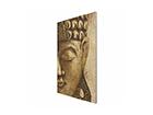 Seinapilt puidul Vintage Buddha