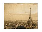 Seinätaulu puulevyllä I LOVE PARIS