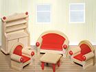 Мебель для кукольного домика - гостиная