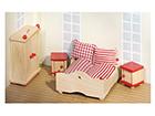 Мебель для кукольного домика - спальня