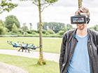 Droon virtuaalreaalsuse prillidega