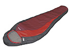 Makuupussi HIGH PEAK REDWOOD tummanharmaa/punainen HU-114407