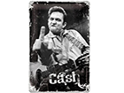 Retro metallposter Johnny Cash 20x30 cm SG-114841
