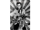 Retro metallposter Elvis Rock'n Roll Baby! 20x30 cm SG-114860