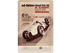 Retro metallposter AvD-Oldtimer-Grand-Prix '84 20x30 cm SG-114861