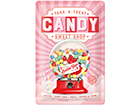 Retro metallposter Candy 20x30 cm SG-114863