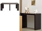 Seinäpöytä / jatkettava ruokapöytä HELENA 43-200x95 cm