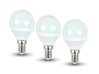 LED valo 6 W, 3 kpl