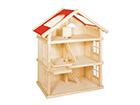 Кукольный домик 3-этажный