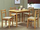 Ruokapöytä+4 tuolia LOTUS