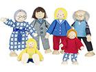 Куклы для кукольного домика