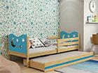 Lasten sänkyryhmä 2-le, 80x190 cm
