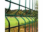 Заборная панель 3D RAL6005, 4 mm 123x250 cm