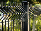 Заборная панель 3D RAL7016, 4 mm 203x250 cm