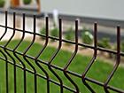 Заборная панель 3D RAL8017, 4 mm 123x250 cm