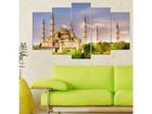 Картина из 5-частей Mosque 100x60 cm