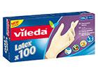 Kertakäyttökäyttökäsine VILEDA MULTI LATEX 100 kpl L