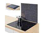 Pritsmekaitse/pliidiplaadikate Granit 56x50 cm