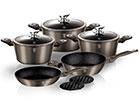 Kööginõude komplekt Carbon Metallic