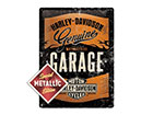 Retro metallposter Harley-Davidson Garage Metallic 30x40 cm SG-118290