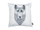 Декоративная подушка Волк 40x40 см