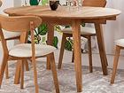 Jatkettava ruokapöytä tammi Basel 90x90-130 cm EC-119680