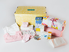 0-3 kuukauden ikäisen tyttövauvan ja äidin laatikko BX-120110