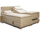 Moottoroitu sänky kaksinkertaisella jousituksella HYPNOS HERMES 160x200 cm