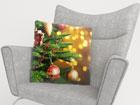 Dekoratiivpadjapüür Christmas Toys 50x50 cm