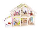 Двухэтажный домик для кукол Susibelle