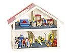 Двухэтажный домик для кукол