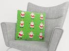 Dekoratiivpadjapüür Funny Santas 50x50 cm