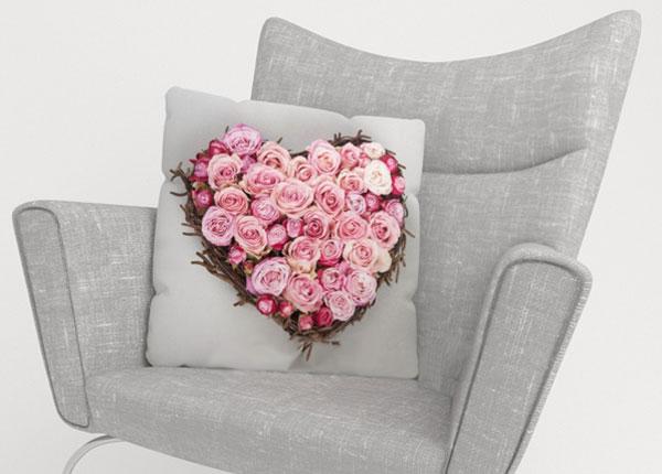 Dekoratiivpadjapüür Heart of Love 50x50 cm