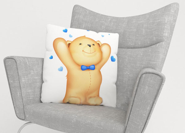 Koristetyynyliina LITTLE BEAR 40x60 cm