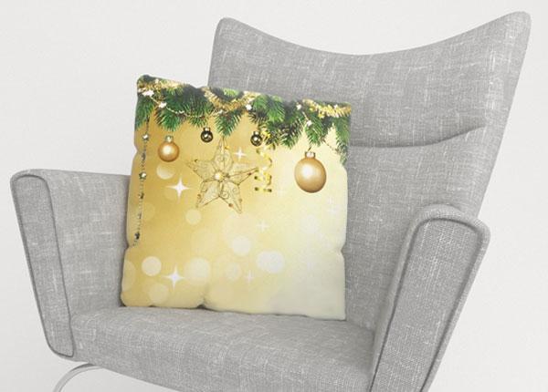 Dekoratiivpadjapüür New Year's Shine 50x50 cm
