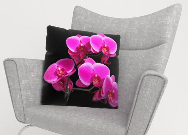 Dekoratiivpadjapüür Orchid Twig 50x50 cm