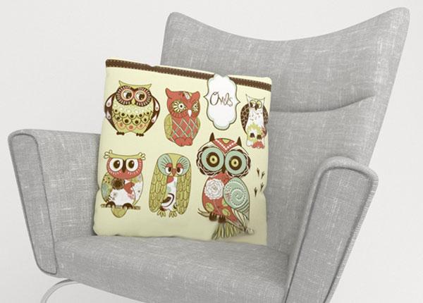 Dekoratiivpadjapüür Owl 2