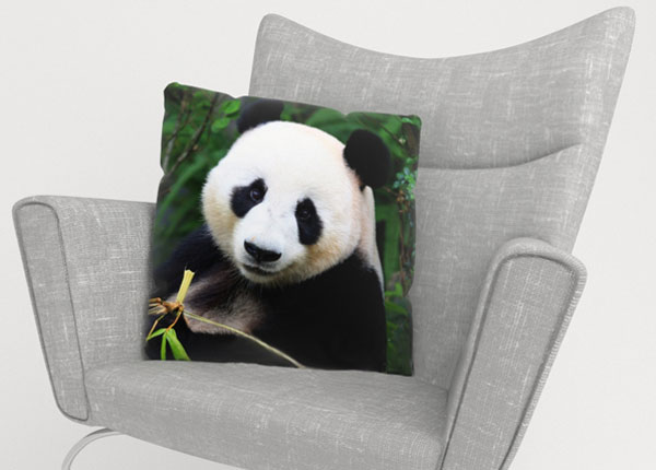 Dekoratiivpadjapüür Panda 50x50 cm