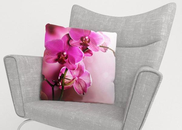 Dekoratiivpadjapüür Purple Orchid 45x45 cm