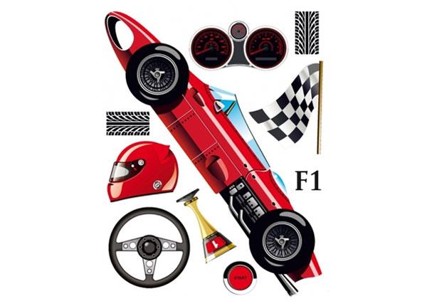 Seinakleebis Formula 1, 65x85 cm ED-124644