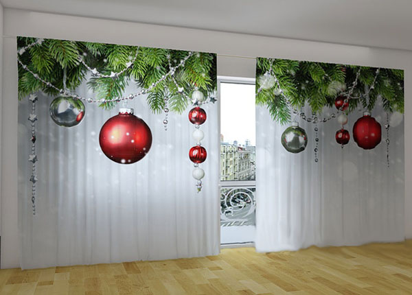 Poolpimendav kardin Christmas Decorations 360x230 cm