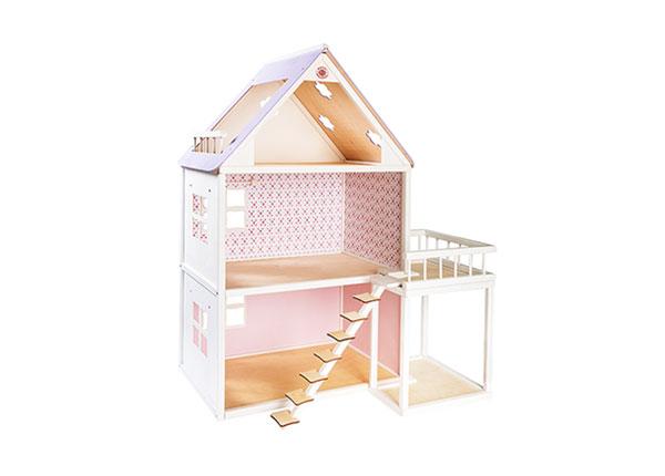 Деревянный кукольный домик Roosi
