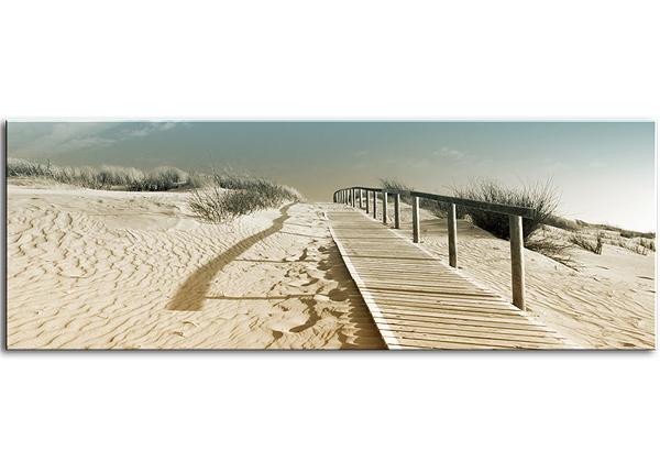 Klaaspilt Harmony Dunes 125x50 cm