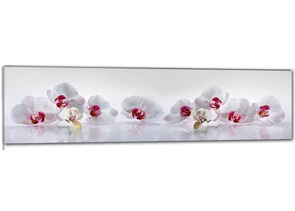 Klaaspilt Orchid 115x30 cm