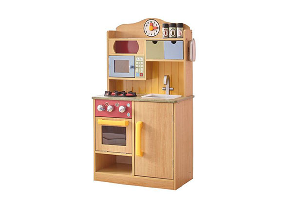 Игрушечная деревянная кухня
