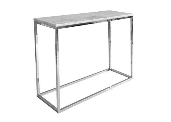 Мраморный консольный стол Accent Chrome