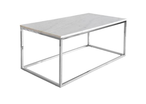 Marmori sohvapöytä ACCENT CHROME 60x110 cm A5-125354