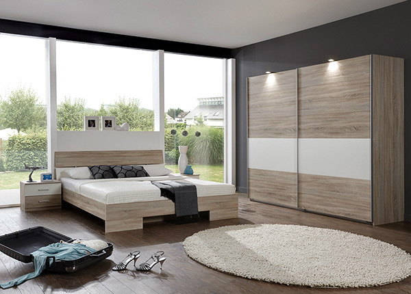 Комплект спальной комнаты Alina 160x200 cm SM-125681
