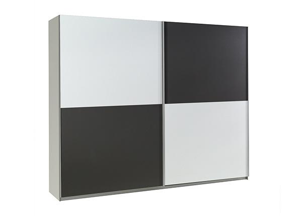 Lükandustega riidekapp Lux 244 cm